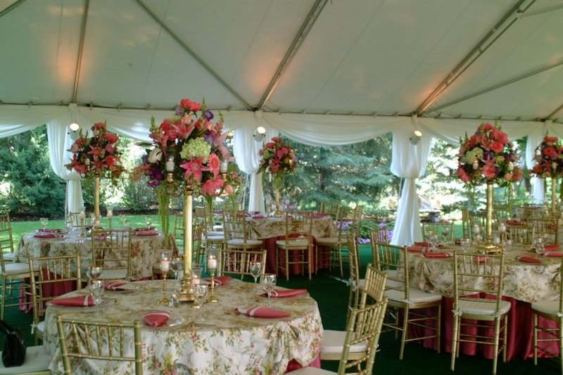 Rent A Wedding Tent Canopy Chicago Il