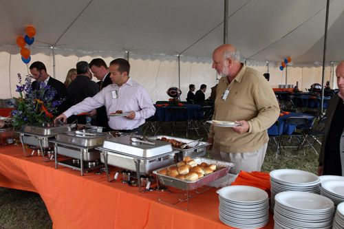Chicago, 60185 Food Service Tables for Backyard Party Tents