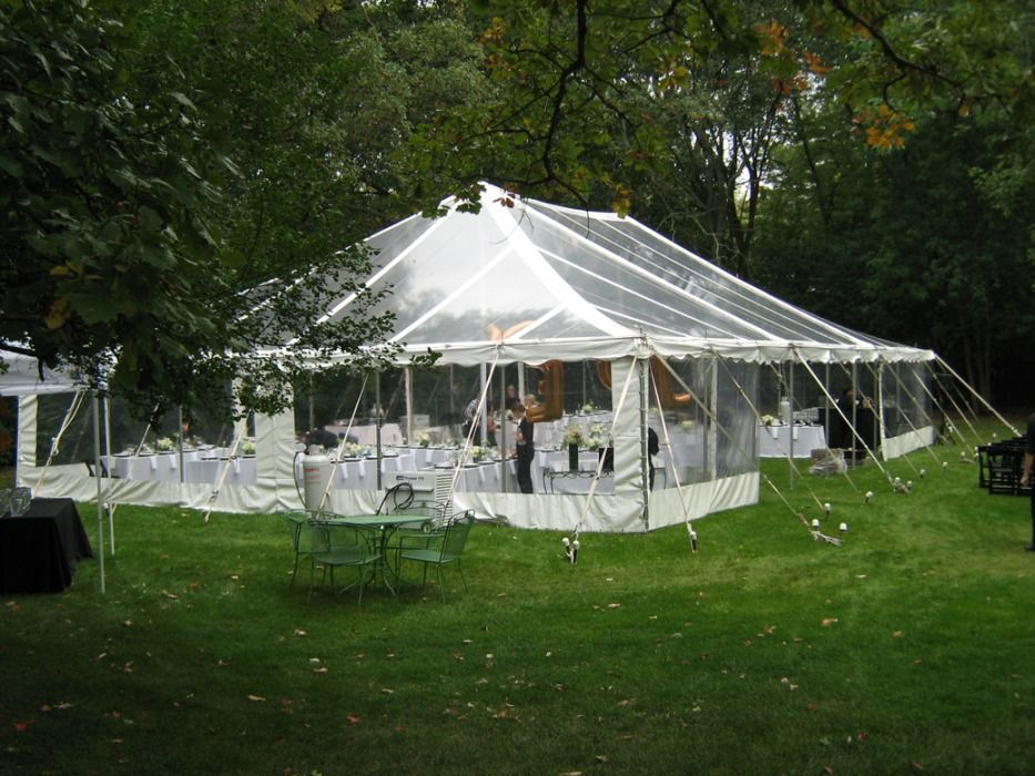 Clear Top Tent with Sides - Chicago, 60622