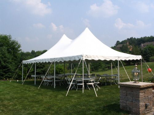 Bannockburn, 60015 60 Guest Package – 20' x 30' Pole Tent
