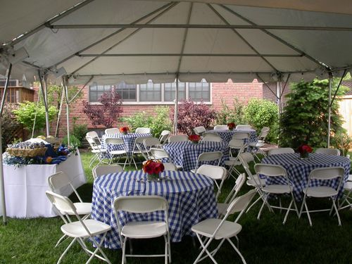 Chicago, 60290 Outdoor Party with Rental Tables and Chairs