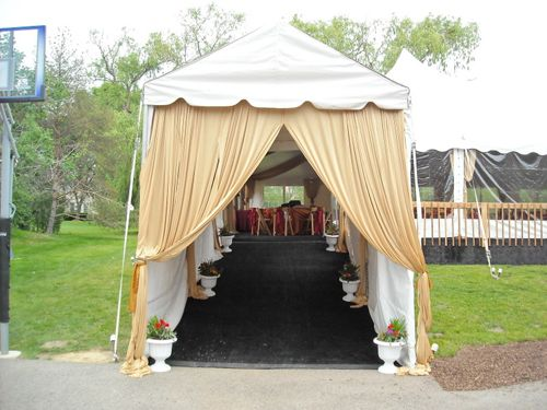 Canopy Walkway Tent with Carpeting and Sidewalls - Arlington Heights, 60004