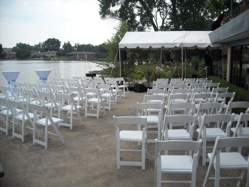 Canopy Tent With Outdoor Seating Chicago Illinois