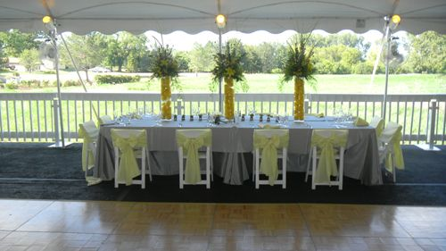Chicago, 60411 Head Table and Chair Rental
